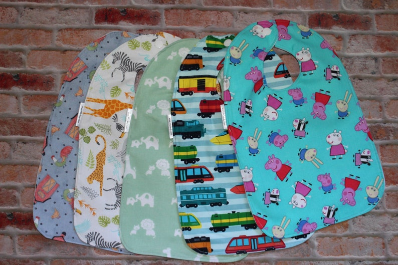 Infant/Toddler Water resistant Bibs  SMALL image 0