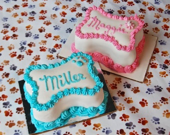Soft Mini Dog Birthday Cakes  for Small Dogs, Puppies  or Cats