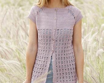 1bc0e4aa4be1 Women jacket crochet crochet top cotton and viscose short