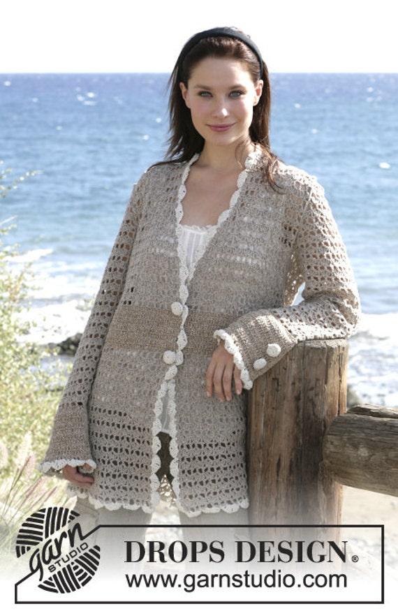 top Crochet Autumn Ladies jacket Handmade alpaca crochet jacket wear winter RwtwaqTF