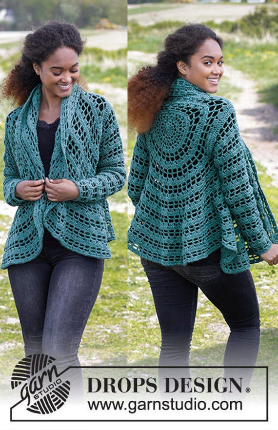 clothing jacket Handmade crochet and COLOR winter autumn alpaca THE top outfit Crochet Women's Woman wool CHOOSE 1pwqU00