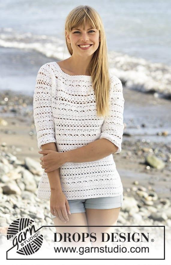 Damen Pullover stricken & Häkeln Baumwolle 3/4 Ärmel Damen