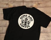 Guns and Coffee Shirt