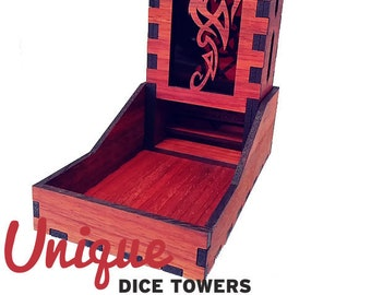 Fire Dragon Dice Tower
