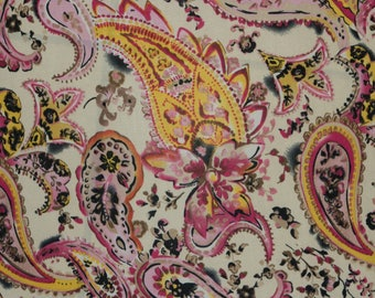16a66bc16b Paisley ITY Print #271 2-Way Stretch Knit Polyester Lycra Spandex Apparel  Craft Fabric 58