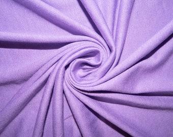 abf1afceec3 Light Purple Jersey Knit #55 Rayon Modal Spandex Lycra Stretch Apparel  Craft Fabric Photography 58