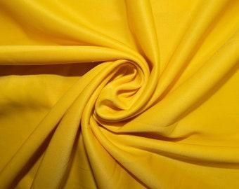 b64fbc07034 Yellow Scuba Techno #30 Double Knit 2-Way Stretch Polyester Lycra Spandex  Apparel Craft Fabric 58