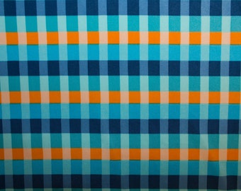 "Multicolor Gingham Print #366 4 Way Stretch Swimwear Activewear Cosplay Nylon Spandex Lycra Apparel Craft Fabric 58""-60"" Wide By The Yard"