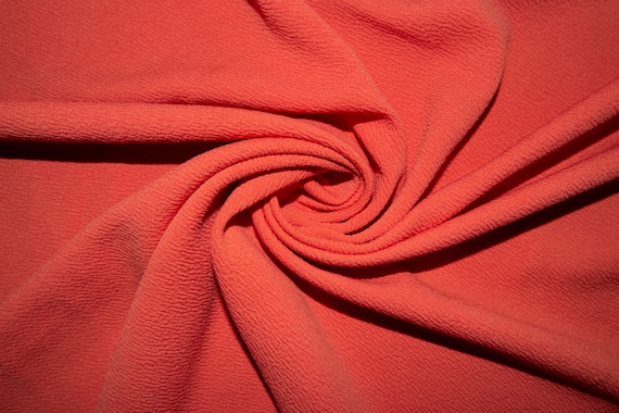 Red Liverpool #08 Double Knit Stretch Polyester Lycra Spandex Fabric BTY