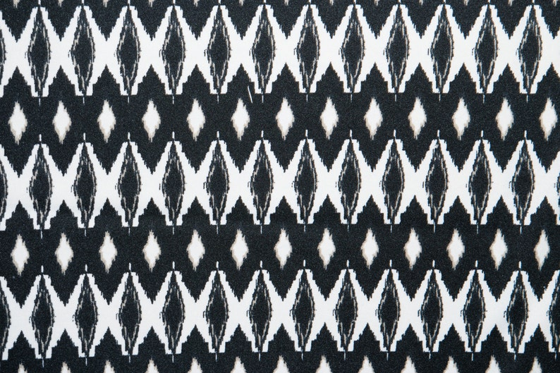 Multicolor Ethnic ITY Print #209 Stretch Polyester Lycra Spandex Fabric BTY