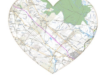 World map heart etsy digital download atlantic city heart map city art modern wedding gift gumiabroncs Images