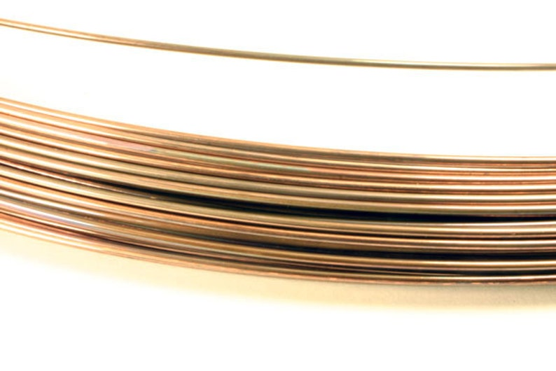 4 Feet 18ga Copper Solder Wire Brazing Wire also known as image 0