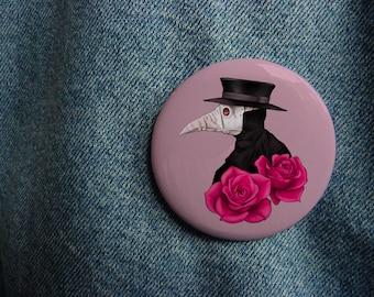 88e01b4e4bf3c Plague doctor pin