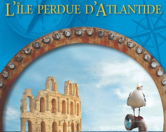 L'île perdue d'Atlantide (French trans. of Bk. 2 in the Submarine Outlaw series)