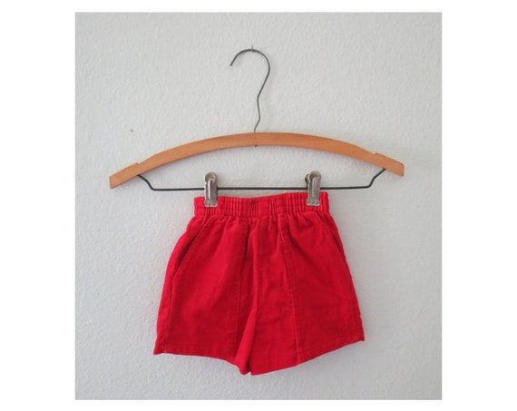 Vintage Baby Shorts Corduroy Toddler Short