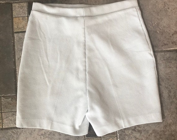 1970s Shorts Vintage High Waisted Shorts