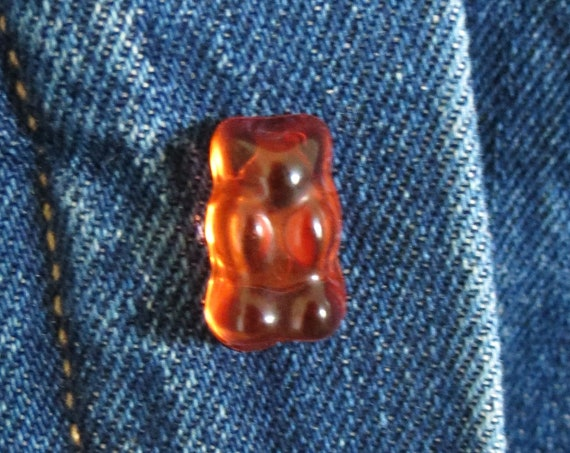 Gummy Bear Pin Gummi Candy Lapel Pin