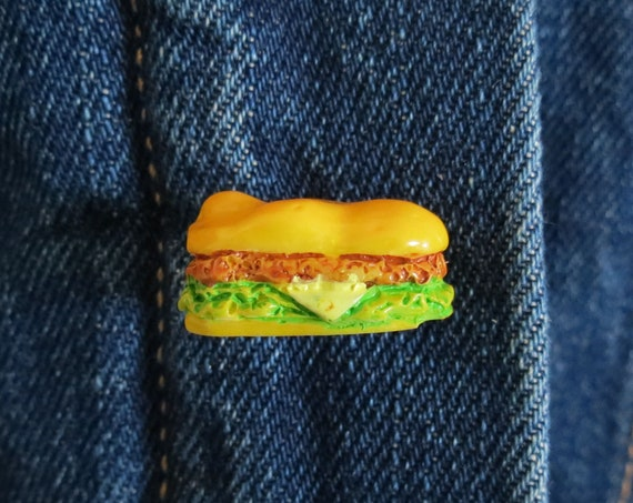 Sandwich Pin Submarine Sandwich Lapel Pin