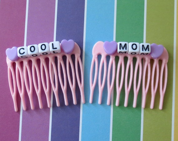 Cool Mom Hair Clips Mama Accessories