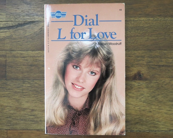 YA Fiction Paperback / 80's Teen Book / 1980's Young Adult Fiction / Sweet Dreams Series / Dial L for Love / Summer Reading