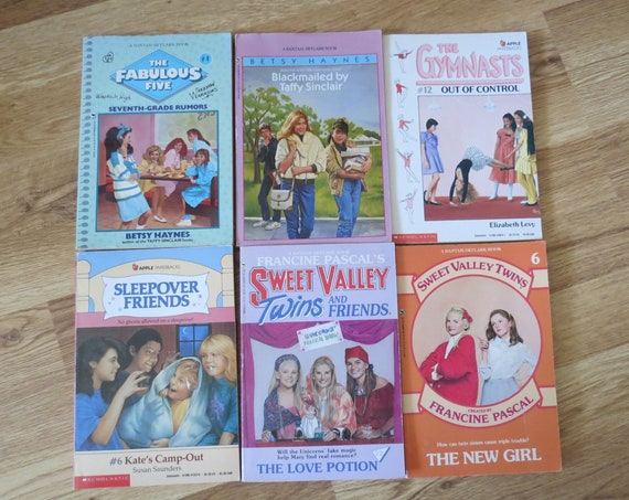 Vintage Chapter Books Teen Series Paperbacks