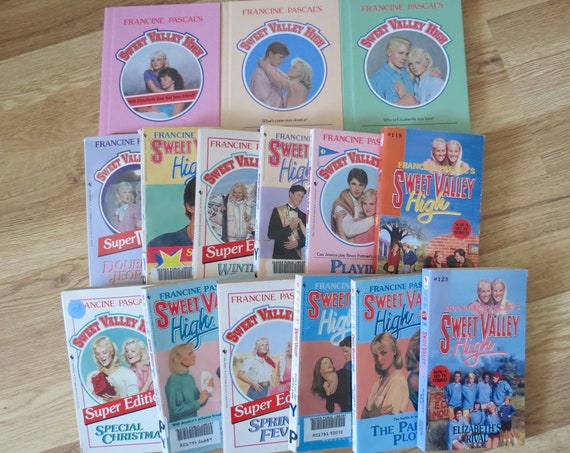 Sweet Valley High Books Vintage Teen Fiction Series