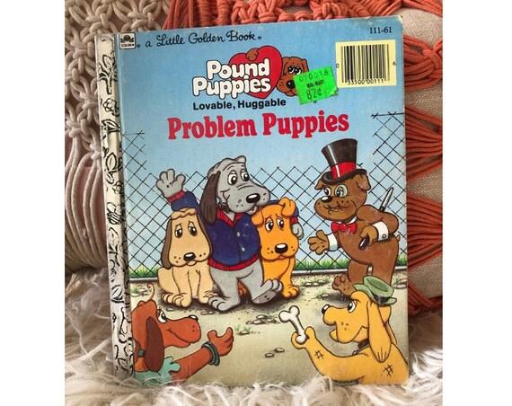 Golden Book Pound Puppies 80s Kids Book