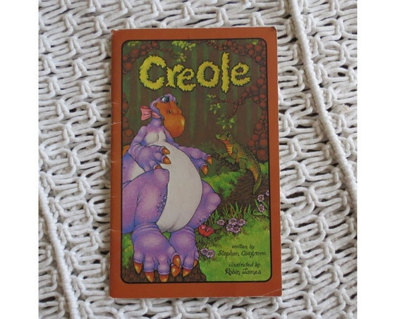 Serendipity Book Vintage Children's Picture Books Creole