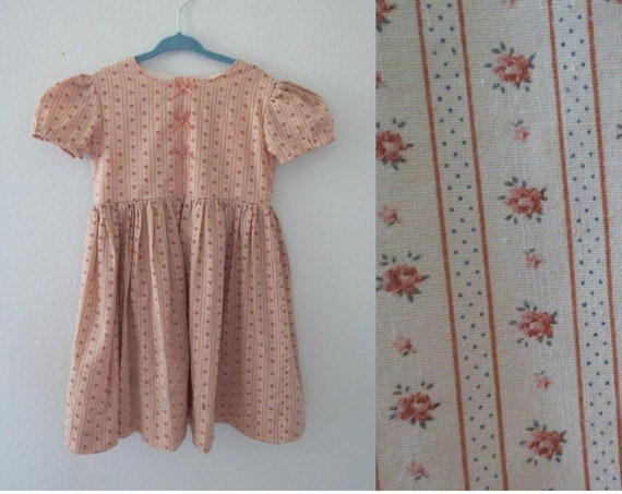 Country Girl Dress Vintage Floral Dress