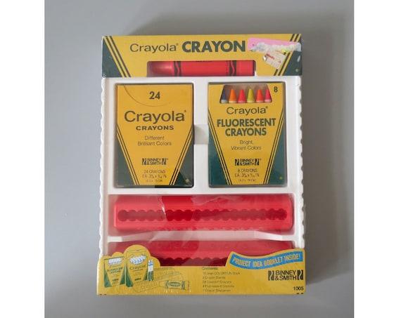 Vintage Crayola Crayon Set Art Supplies