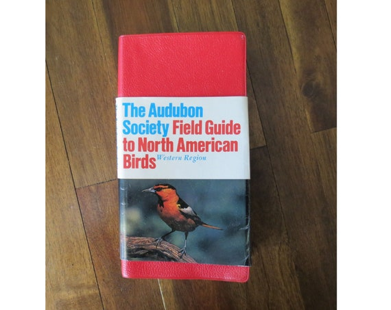 Bird Field Guide / Audubon Society Field Guide to North American Birds Western Region / Bird Identification / Ornithology Reference