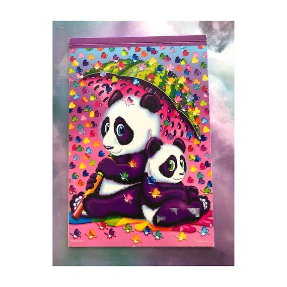 Lisa Frank Notepad Panda Bear Notebook