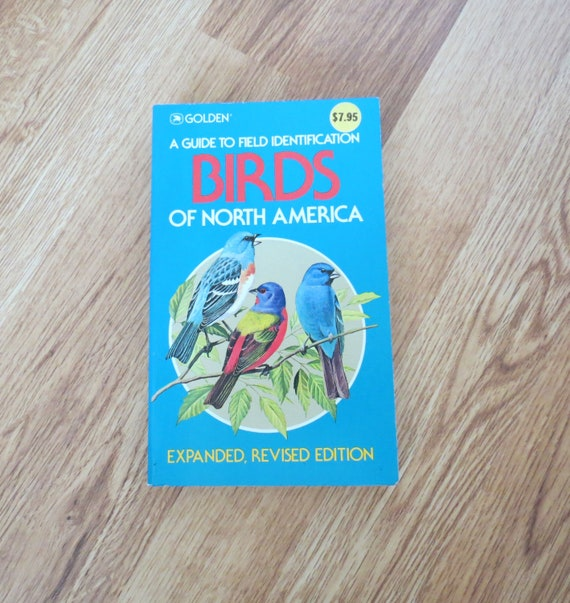 Bird Golden Guide / Bird Field Guide / Birds of North America / Bird Watcher Book / Hardcover Nature Guide / Zim
