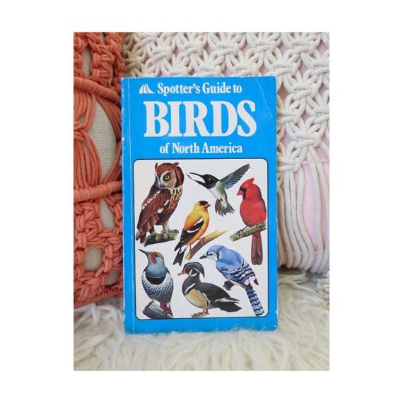 Vintage Bird Book Field Guide Identification