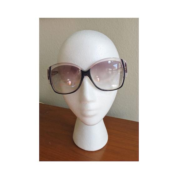 70's Sunglasses / Givenchy Sunglasses / 1970's Oversized Glasses / 80's Sunglasses / Made in Paris France / 1980's Sunglasses