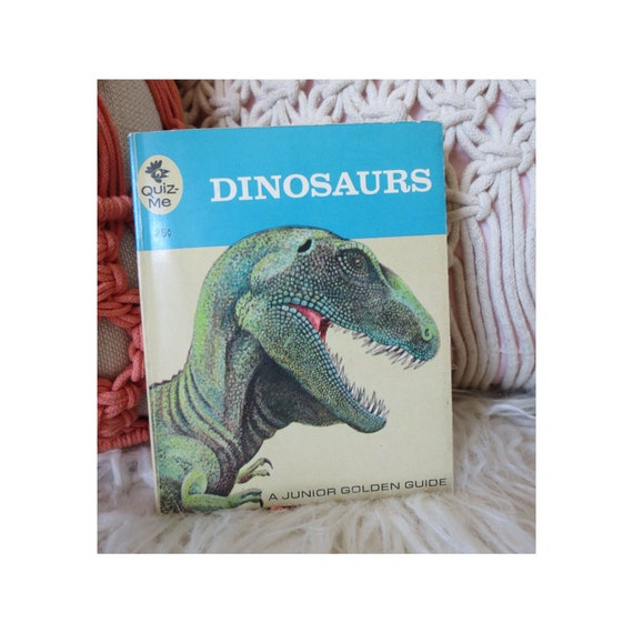 Vintage Dinosaurs Book Junior Golden Guide