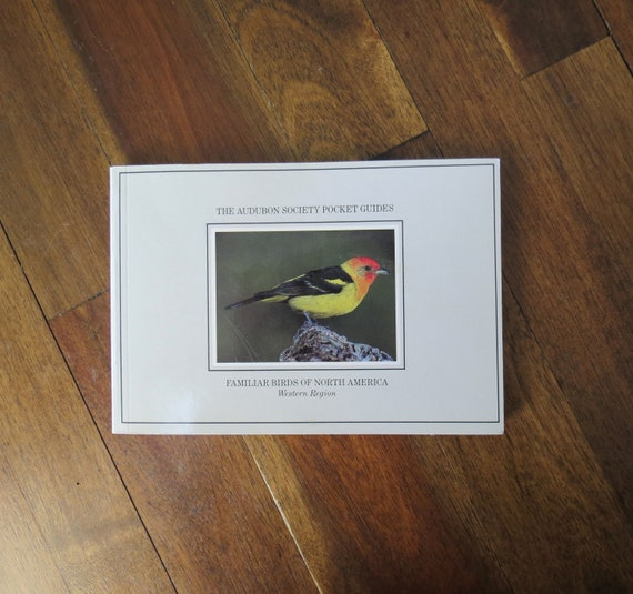 Bird Field Guide / Familiar Birds of North America / Paperback Book / Bird Identification / Audubon Society Guide / Ornithology Reference