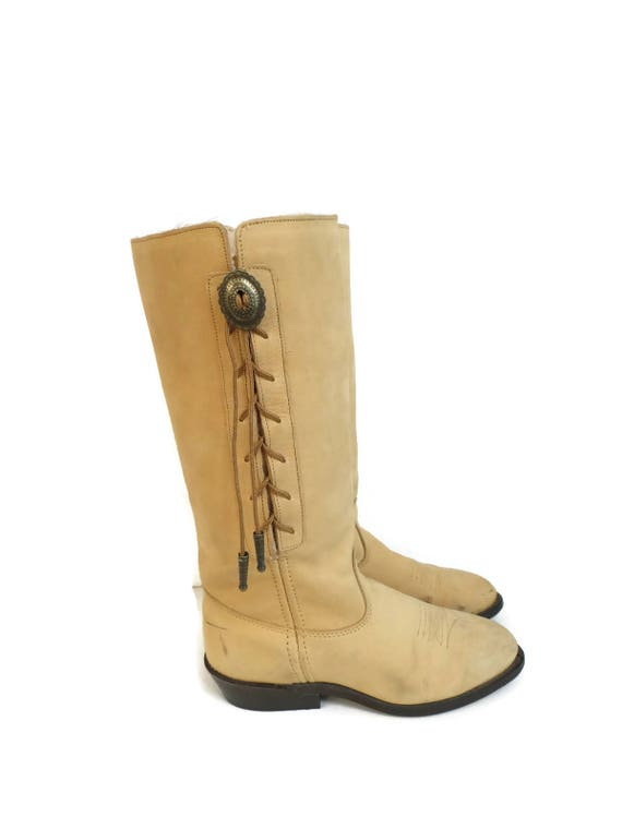 cow taille Concho 5 Bottes girl Western cr 5 gqxtqw56B