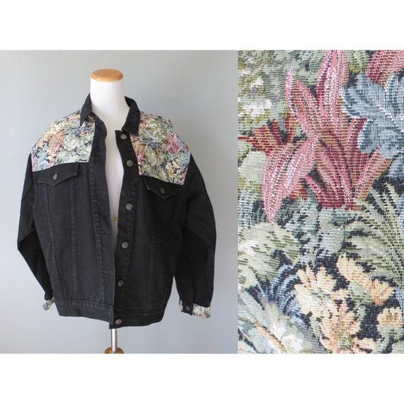 Tapestry Jacket Denim Jordache Jean Jacket