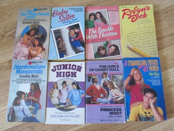Vintage Teen Books Paperback Girls Fiction