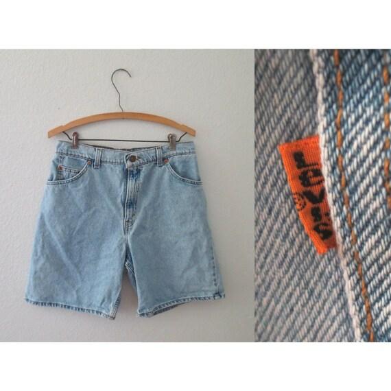 Levis Denim Shorts 90s Jean Short