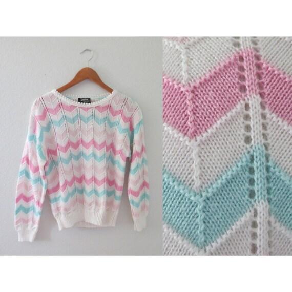 Pastel Sweater Vintage Kawaii Pullover