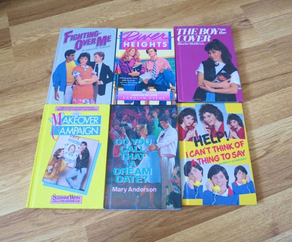 Vintage Teen Books Hardcover Girls Fiction Series