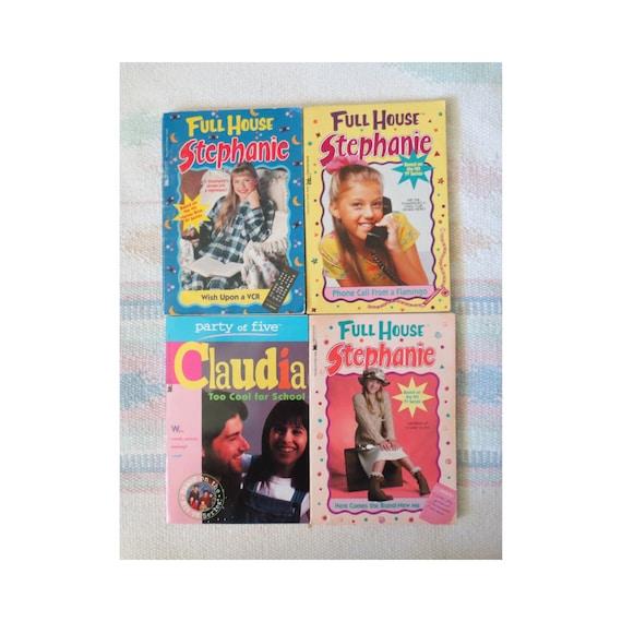 Vintage Girls Chapter Books Full House