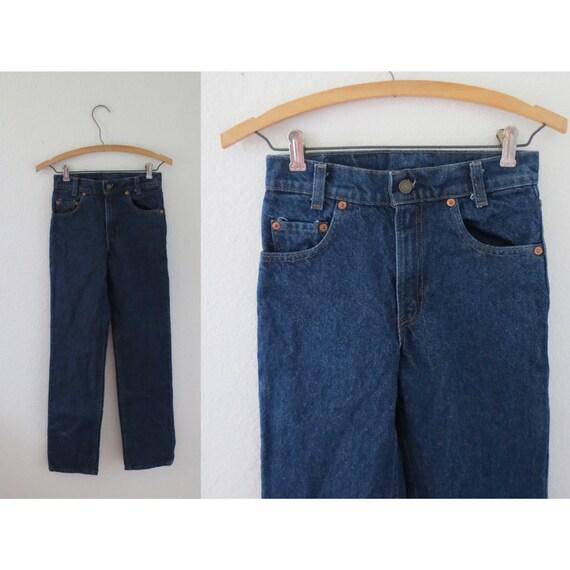 Levis Student Fit Jeans 720 80s Denim 25 26