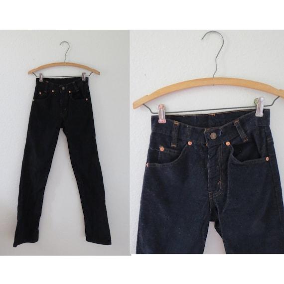 Levis Student Corduroy Jeans 716 80s Pants 24 25 W