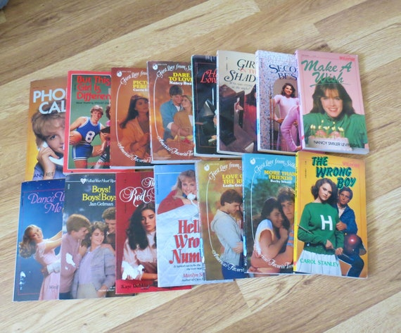 Vintage Teen Chapter Books YA Fiction Series