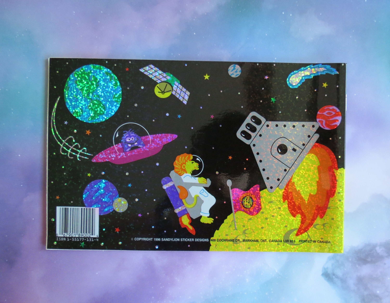 SANDYLION STICKER section 80er 90er Neon dinosaures Autocollants Sticker Album
