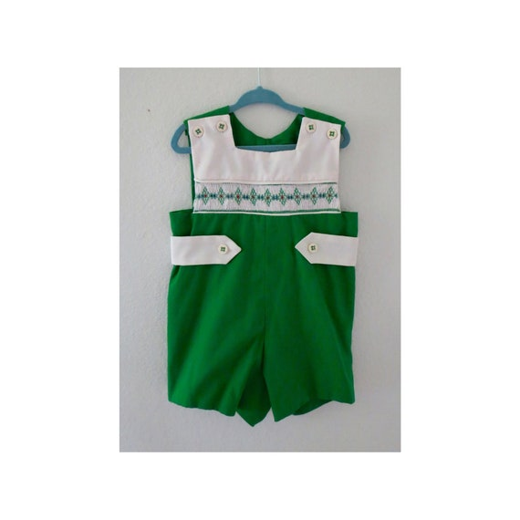 Vintage Baby Romper Boys Outfit