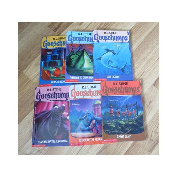 Goosebumps Lot / R. L. Stine / YA Fiction / Tween Horror Paperbacks / 1990's Children's Books / RL Stine / Chapter Books